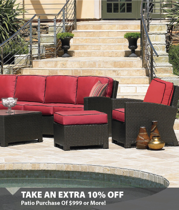 Patio Save Extra 10% off $999