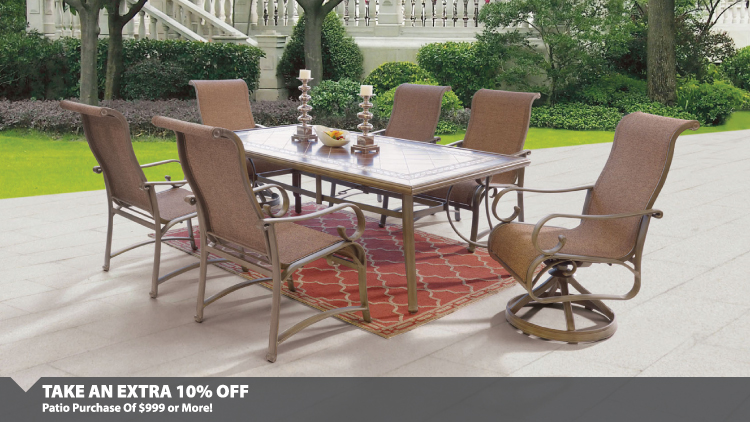 Extra 10% Off Patio Set