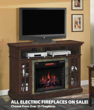 Choose From Over 50 Fireplaces