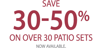 30-50% OFF PATIO