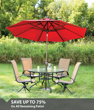 Save 75% On Patio