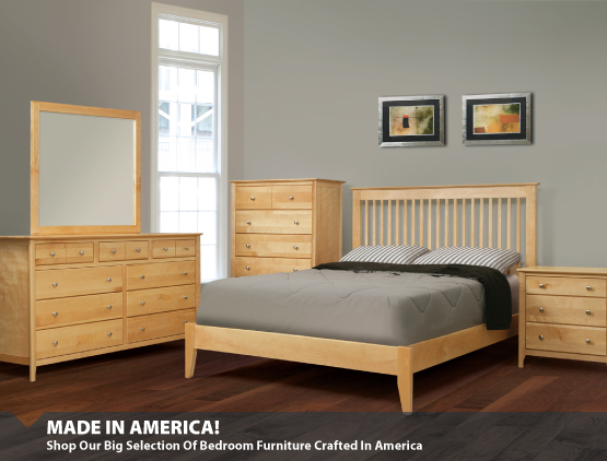 Made In America Bedroom