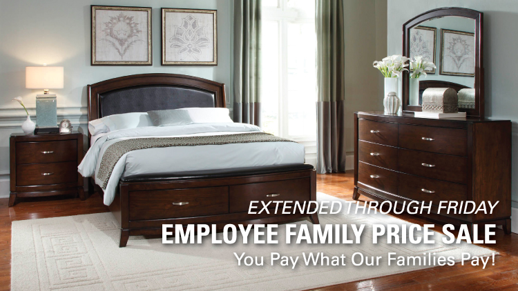 Extended Employee Family Price Sale