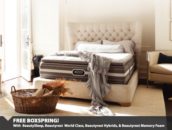 Free Boxspring With Purchase