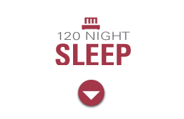 120 Night Sleep Guarantee