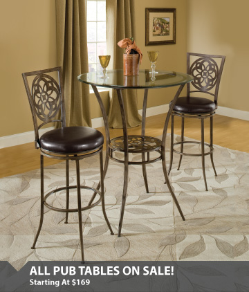 Pub Tables Starting At $169