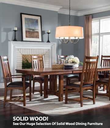 All Solid Wood Dining On Sale