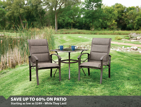 Patio 50% Off