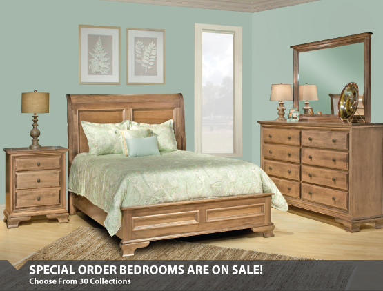 Special Order Bedroom Sale