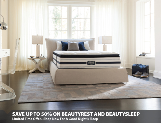 50% Off Beautyrest & BeautySleep